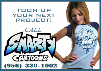 Call (956) 330-1002 To Toon Up Your Next Project!